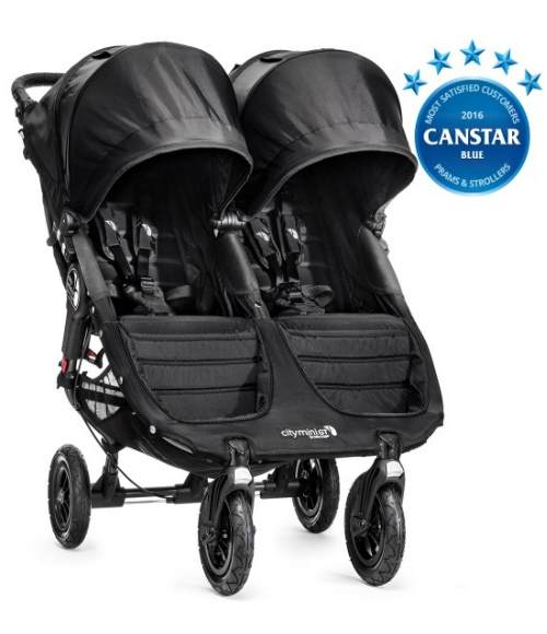 Baby Pram Hire - Baby Jogger City Mini GT Double Pram