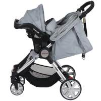 Baby equipment hire - Travel System - Steelcraft Agile Travel System